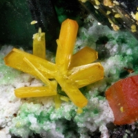 Kasolite Wulfenite & Torbernite