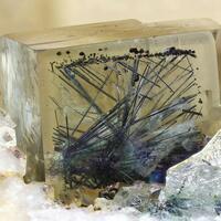 Emplectite In Fluorite