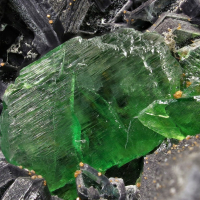 Titanite Anatase & Clinochlore