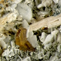Sérandite & Sphalerite