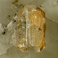 Fluorapatite With Dawsonite