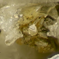 Faujasite-Na With Donnayite Group Phillipsite-Na & Muscovite