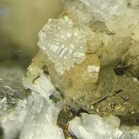 Chalcopyrite With Gobbinsite & Gmelinite-Na