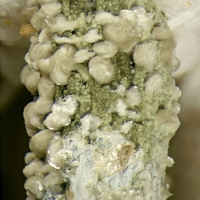 Donnayite Group On Psm Petersenite-(Ce) With Sodalite