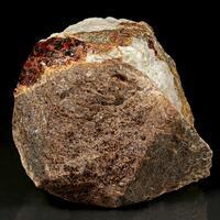 Tephroite & Zincite In Calcite With Willemite
