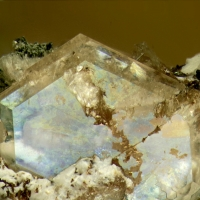 Catapleiite With Natrolite