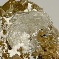 Catapleiite Rutile & Anatase On Siderite