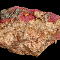 Gold On Erythrite