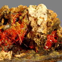 Crocoite With Pyromorphite