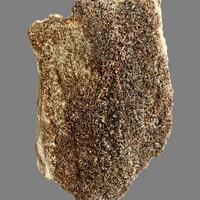 Harmotome On Pyrite