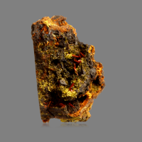 Pyromorphite On Crocoite