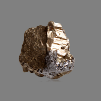 Native Bismuth With Molybdenite
