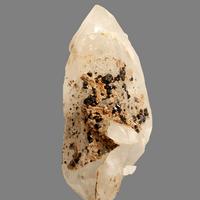 Cassiterite On Quartz With Muscovite