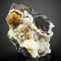 Greenalite Quartz Chalcedony Galena & Monheimite
