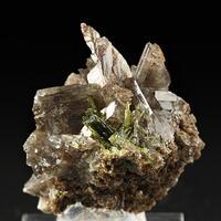 Axinite-(Mn) & Epidote