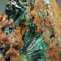 Malachite Azurite & Limonite