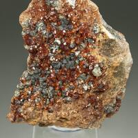 Grossular Var Hessonite & Chlorite