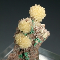 Mimetite With Malachite Psm Copper