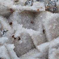 Quartz Psm Psm Fluorite With Sphalerite & Brianyoungite