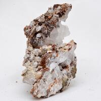 Quartz Fluorite & Siderite