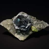 Iron Rose With Titanite