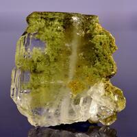 Faden Quartz With Chlorite Inclusions