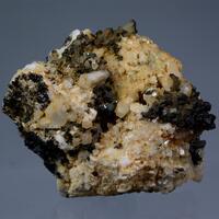 Allanite-(Ce) With Melanite