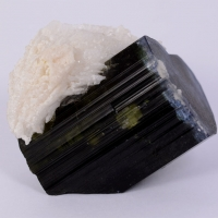 Tourmaline With Cleavelandite