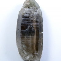 Smoky Quartz With Astrophyllite Inclusions