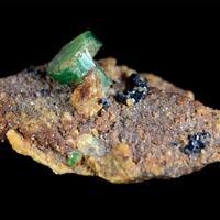 Emerald With Cassiterite