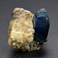 Afghanite With Calcite