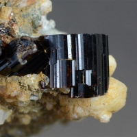 Vesuvianite With Albite