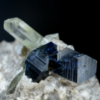Anatase & Quartz With Chlorite
