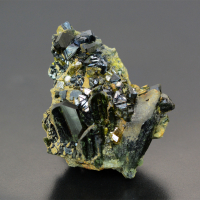 Magnetite With Epidote & Diopside