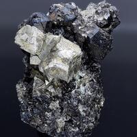 Pyrite & Magnetite With Quartz