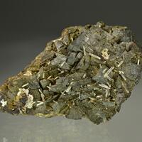Quartz & Aragonite On Siderite