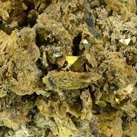 Pyrite & Quartz On Siderite