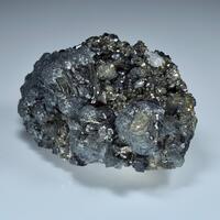 Boulangerite Pyrrhotite & Sphalerite