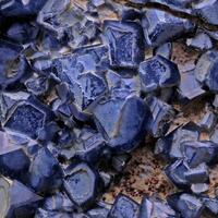 Blue Quartz & Magnesio-riebeckite