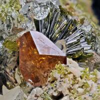 Titanite Epidote & Quartz