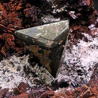 Tetrahedrite & Siderite