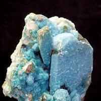 Chrysocolla & Ajoite On Quartz