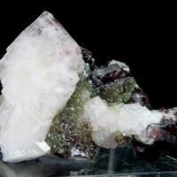Hematite Duftite & Calcite