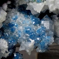Quartz With Shattuckite Inclusions
