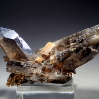 Quartz With Zircon Inclusions