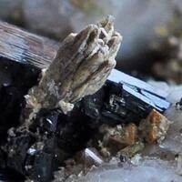 Fergusonite Pyrochlore Zircon & Aegirine On Orthoclase