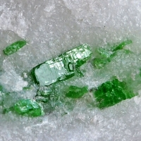 Pargasite On Marble