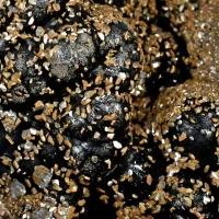 Corkite On Goethite