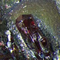 Pyrargyrite & Pyrostilpnite