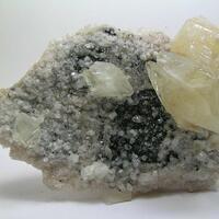 Calcite Dolomite & Sphalerite